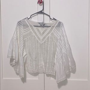 White blouse from American eagle